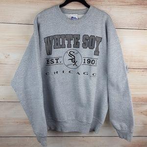 Pro Player Men's Vintage White Sox Sweatshirt XL